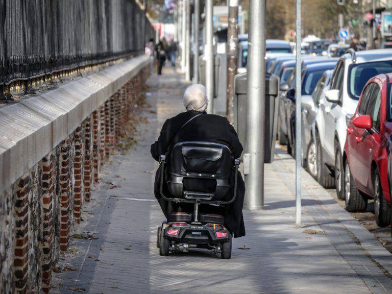 It's great freedom for old or physically disable people to travel with mobility scooter