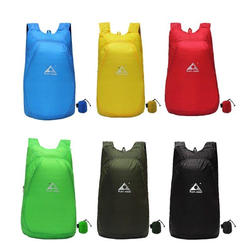 Folding Waterproof Backpack Hiking and Camping Folding backpacks