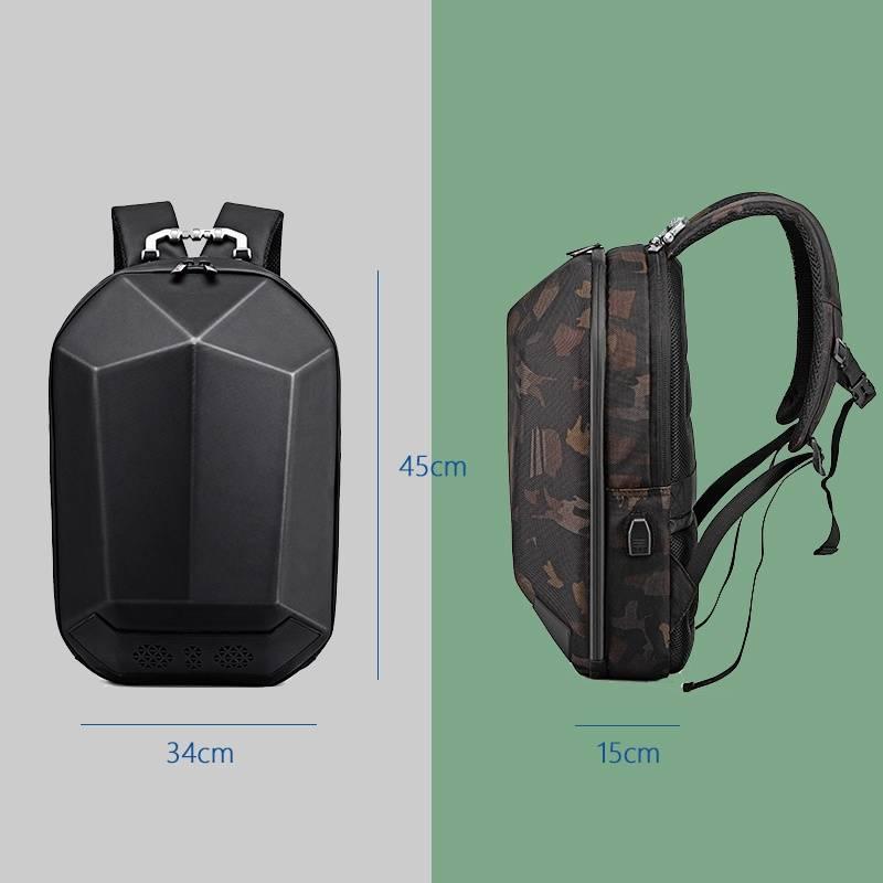 Speaker Backpack: A Stylish Backpack with Bluetooth Speaker & USB Charging Option Travel luggage Stylish Backpacks