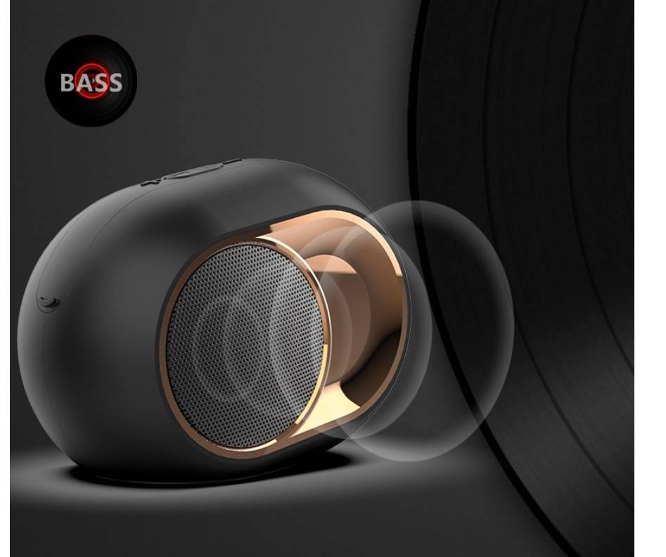 Hi-Tech Design Bluetooth 5.0 Speaker Travel Electronic Gadgets Travel Electronics Accessories