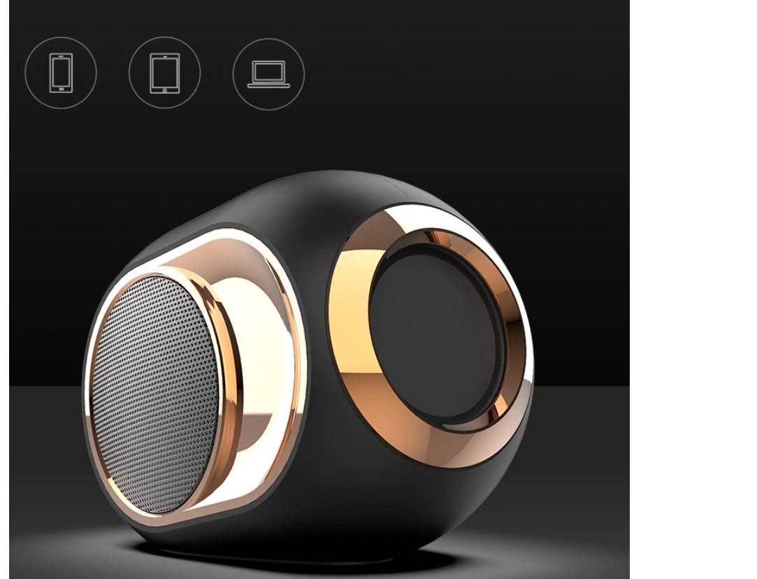 Hi-Tech Design Bluetooth 5.0 Speaker