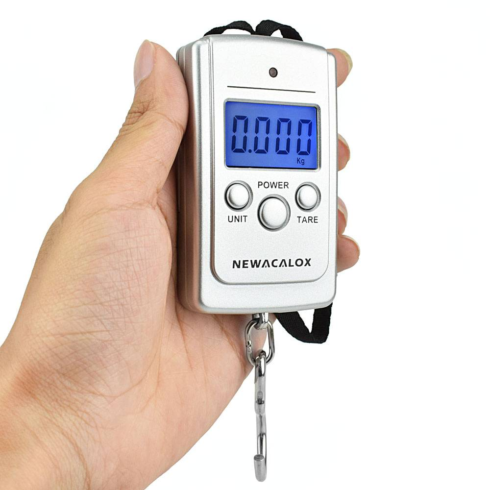 Mini Digital Luggage Scales with Weighing Hook Travel Electronics Accessories