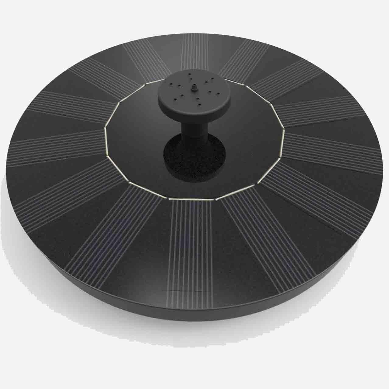 Portable Solar Power Fountain – SPECIAL OFFER Garden Traveler