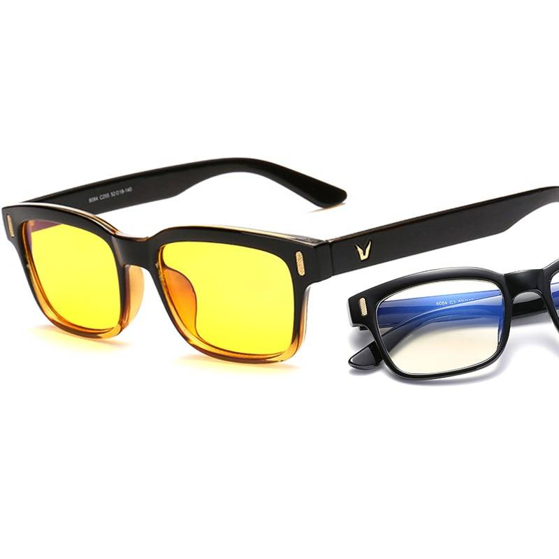 Blue Ray Computer Glasses Men Screen Radiation Eyewear Brand Design Office Gaming Blue Light Goggle UV Blocking Eye Spectacles Accessories
