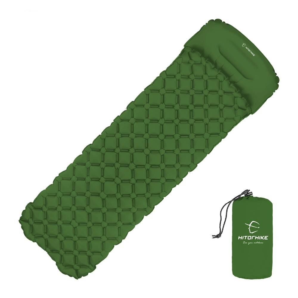 Camouflage Camping Air Mattress