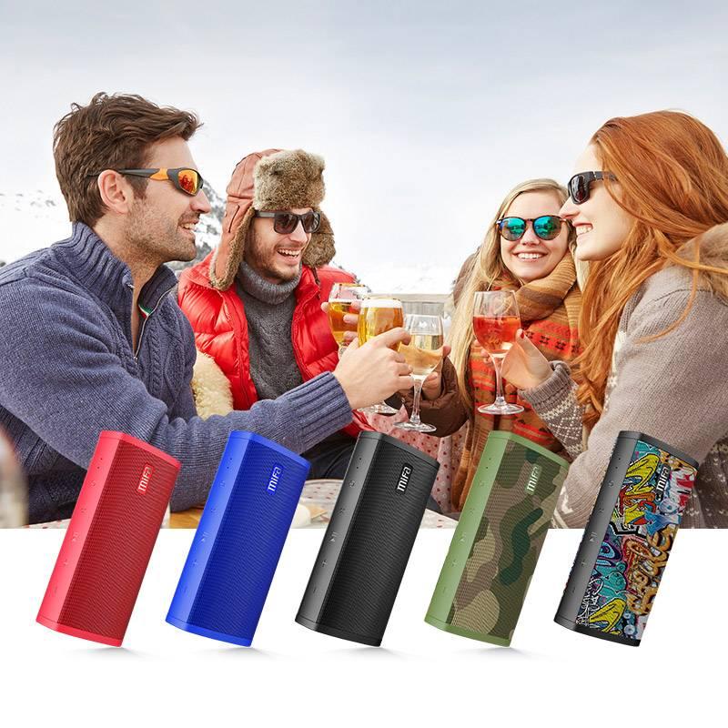 Graffiti Printed Wireless Bluetooth Speaker Travel Electronics Accessories Travel Electronic Gadgets