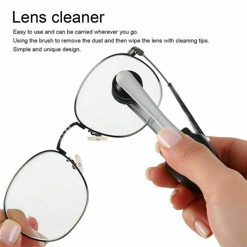 Practical Glasses Cleaner Eyewear Clean Brush Best Eyeglass Maintenance Vision Care Professional Sunglass Clean Glasses Tool Accessories