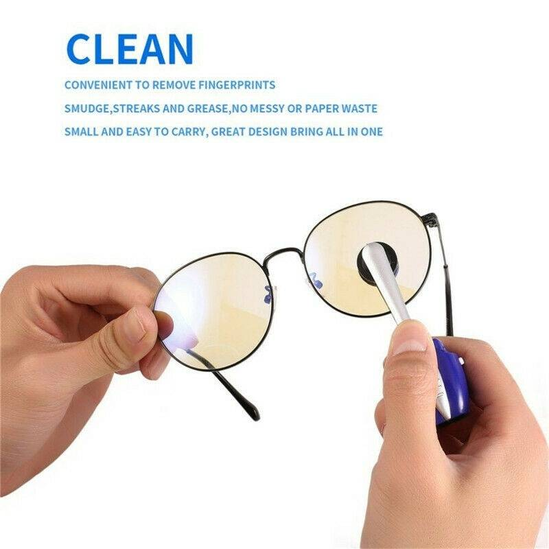 Practical Glasses Cleaner Eyewear Clean Brush Best Eyeglass Maintenance Vision Care Professional Sunglass Clean Glasses Tool