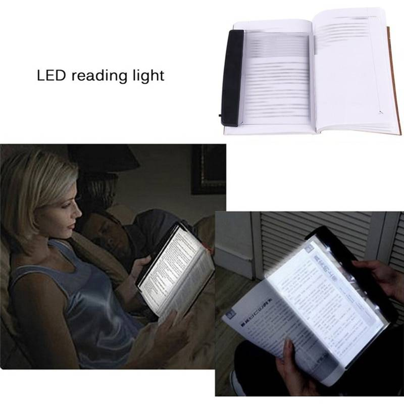 Book Eye Protection Night Vision Light Reading Wireless Portable LED Panel Travel Bedroom Book Reader For Home Bedroom Travel & Outdoor Electronic Gadgets