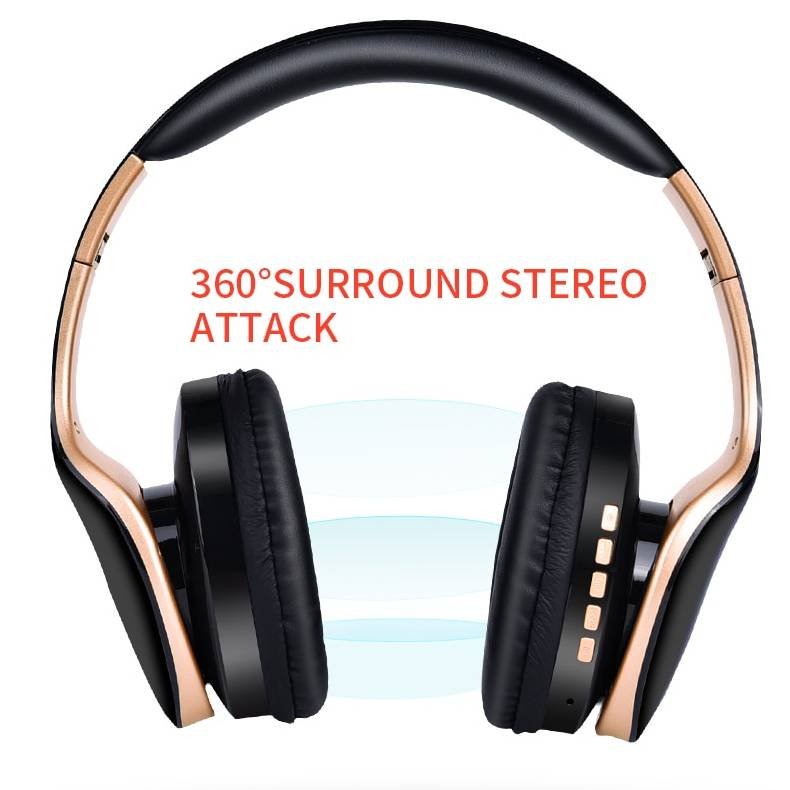 Foldable Wireless Gaming Headphones Electronic Gadgets