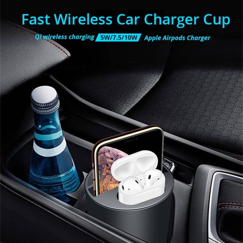Car Wireless Charger Cup Road-trip Accessories